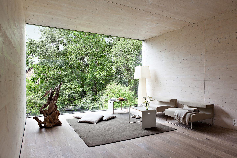 Moderne Architektur Im Thoma Holzhaus