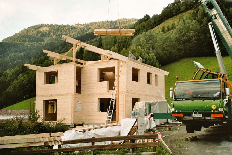 Bauablauf Thoma Holz