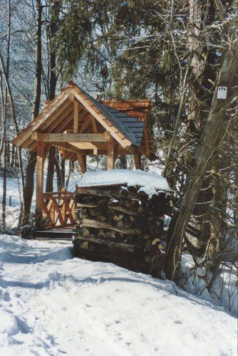 Forschungszentrum Goldegg im Winter
